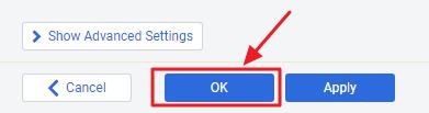 OKボタン